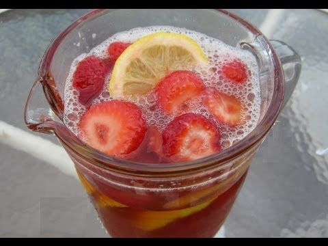 Strawberry Rhubarb Iced Tea! YUM! | VIDEOS Foods & Drinks - Learn to ...