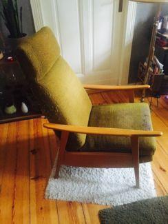 Von EBay Kleinanzeigen Alter Mid Century 60er Jahre Easy Chair Sessel Relaxliege In Berlin