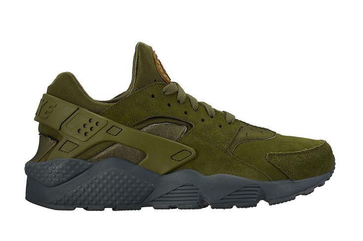 Nike Air Huarache Run SE 'Legion Green/Anthracite' - EU Kicks: Sneaker Magazine