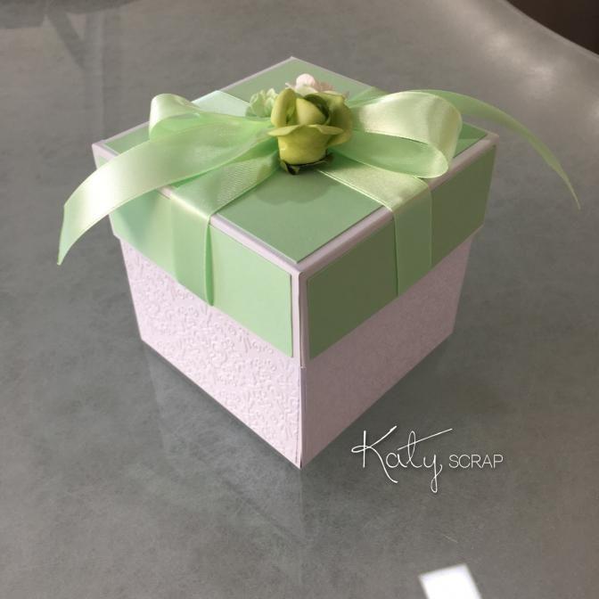 Fler BLOG   Katy scrap / Svatební krabičky roku 2016 IV.