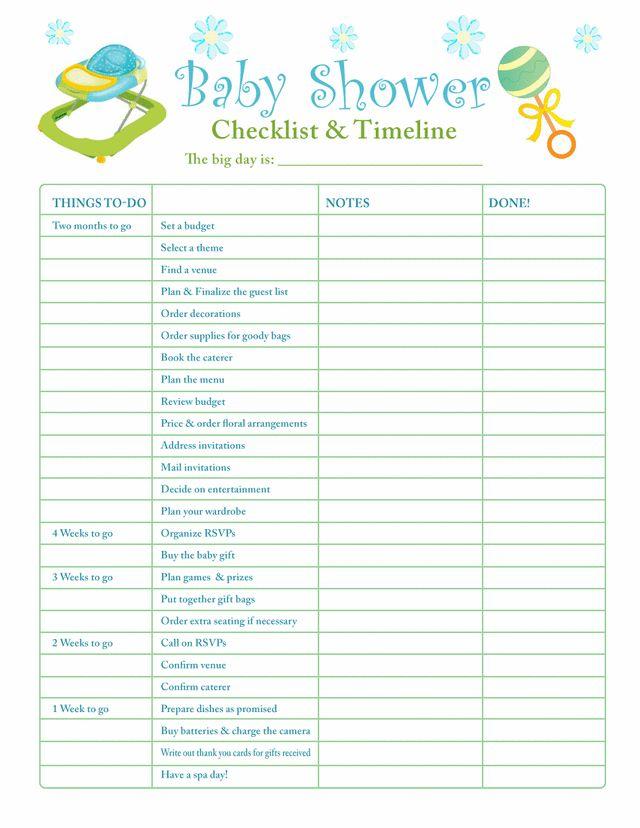 Best 25+ Baby shower planner ideas on Pinterest Baby shower - sample baby shower checklist