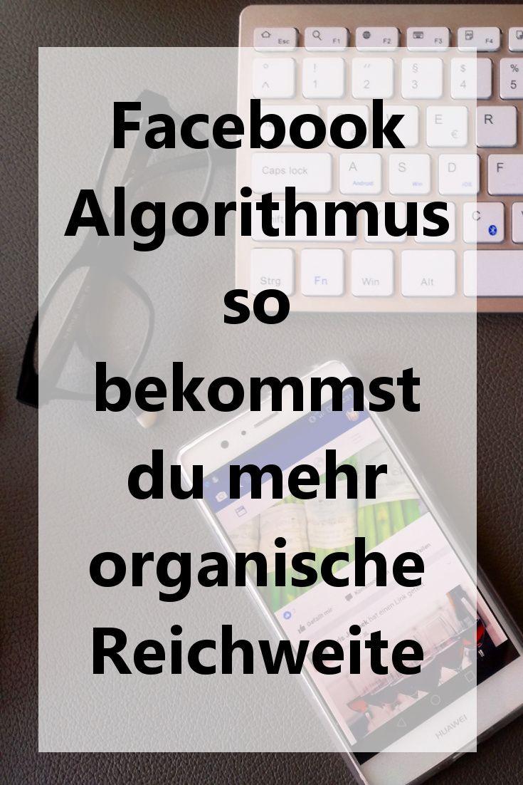 Habt ihr wegen dem Facebook Algorithmus auch Probleme mit eurer Reichweite? In meinem Blogbeitrag findet ihr ein paar Tipps, die euch vielleicht helfen können.