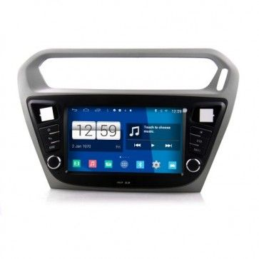 Poste Radio Voiture Android 4.4.4 Autoradio Peugeot 301 Poste DVD GPS USB Bluetooth écran tactile 4G IPOD Iphone Wi-Fi