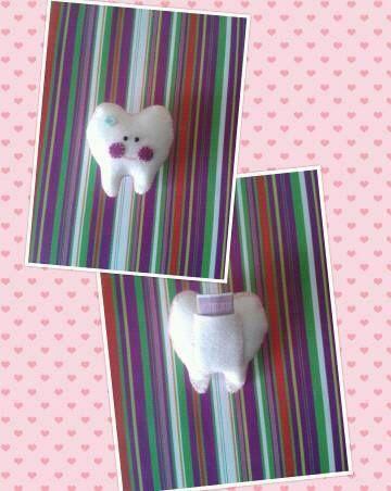 Muelita para el hada de los dientes