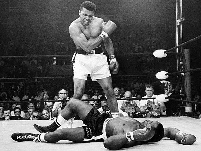 """Only last week I murdered a brick. Man, I'm so mean I make medicine sick."" - Muhammad Ali. ""The Greatest"""