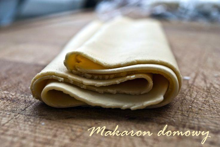 Szybki domowy makaron. Idealny na spaghetti, lasagne czy ravioli.