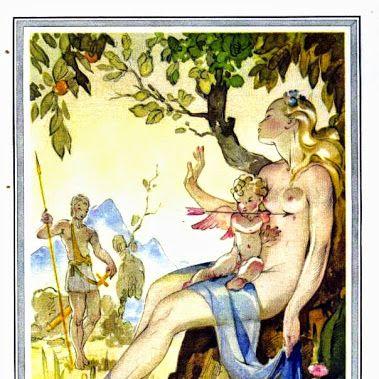 Les Métamorphoses d'Ovide, choix de seize fables, illus. Jean A. Mercier, tr. l'Abbé Banier [Paris, 1946]