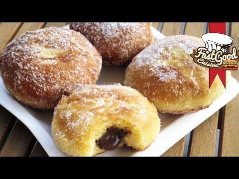 La recette de beignet au nutella | FastGoodCuisine - YouTube