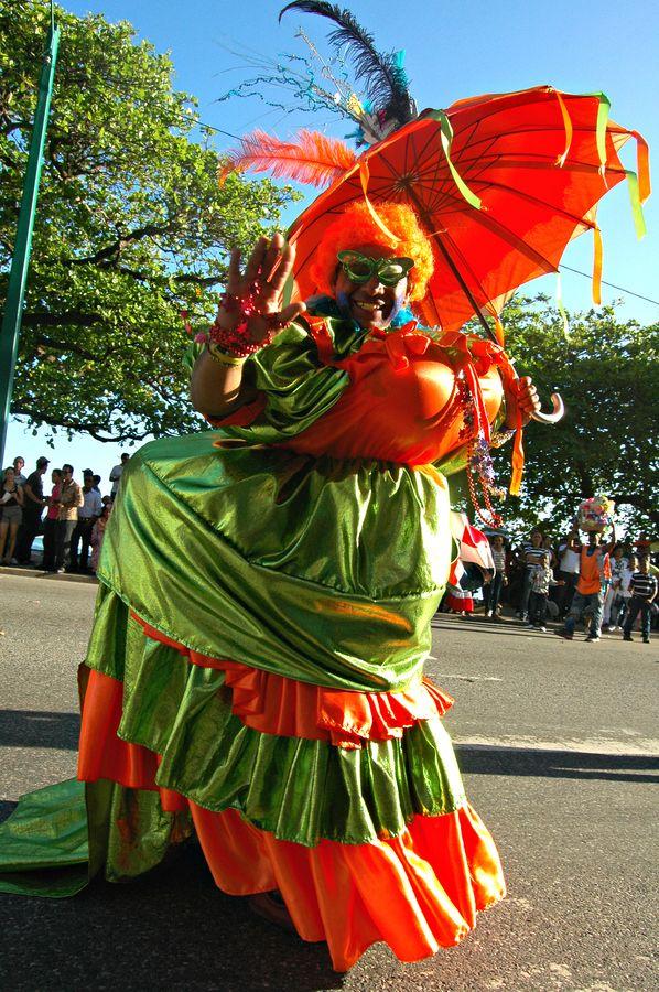 Mama Nalgona, Santo Domingo Carnival
