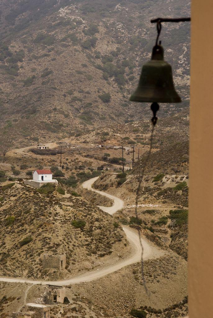 Village of Olympos in Karpathos Island, South Aegean_ Greece