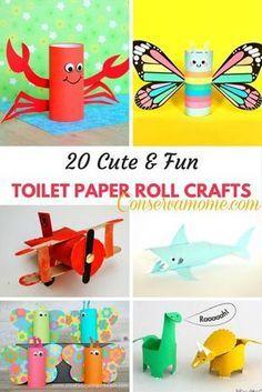 20 Cute Fun Toilet Paper Roll Crafts Bible School 2018 Toilet