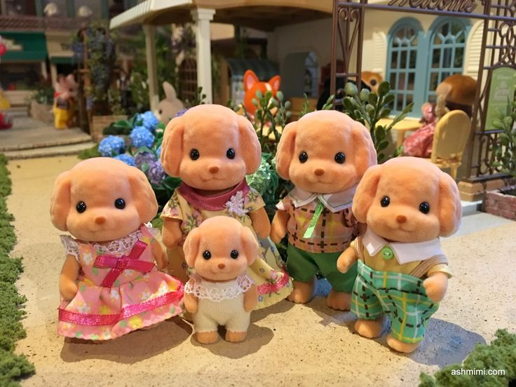 Sylvanian Families Toy Poodle Family                                                                                                                                                     More