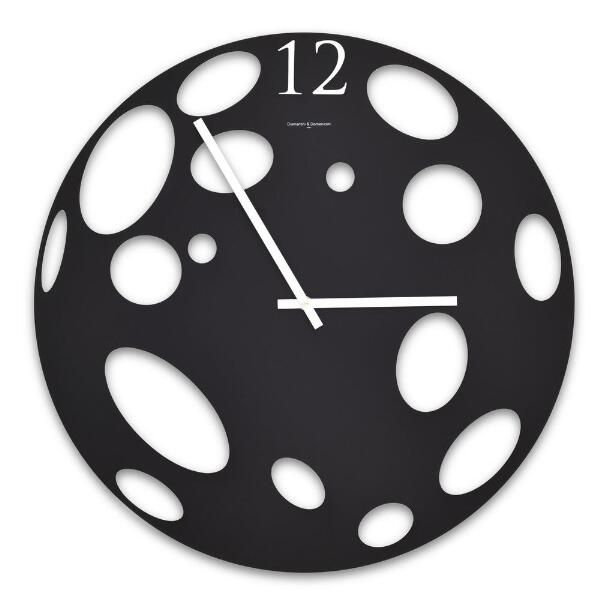moon wall clock minimalist designs of wall clocks