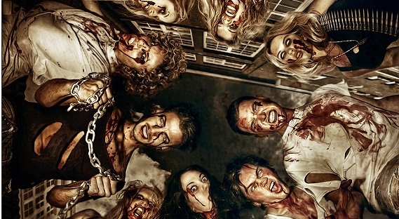 20 Zombie Photos that are Just Scary