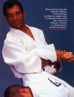 """Martial Magazine, Jan 2003- by Jose Fraguas """"Rorion Gracie"""" http://gracieacademy.com/media_print.asp?aid=44"""