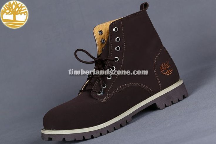 Cheap Timberland 6-Inch Brown Boots Men's $ 83.99