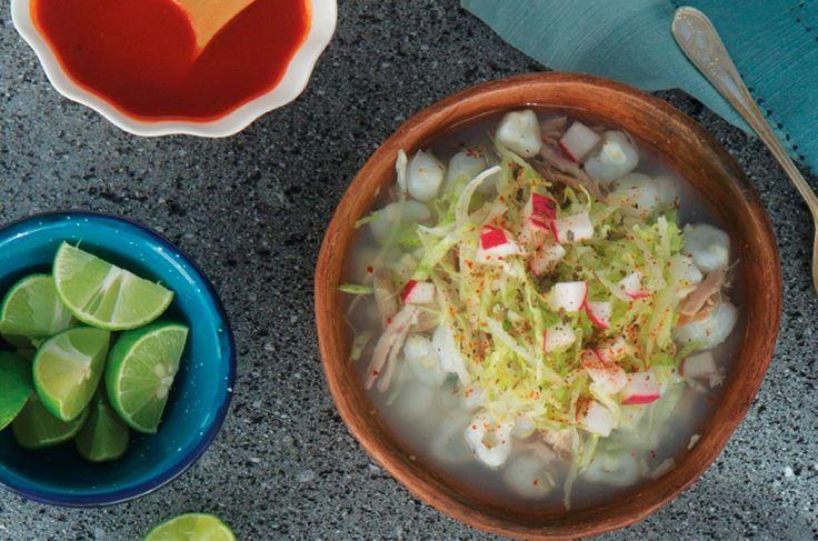 Cómo hacer Pozole blanco de puerco casero - Receta mexicana - Cocina Vital