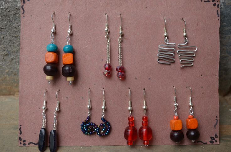 Hobby- making earrings