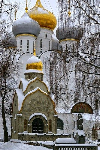 Iglesia dentro de el Kremlin, Moscú, Rusia.