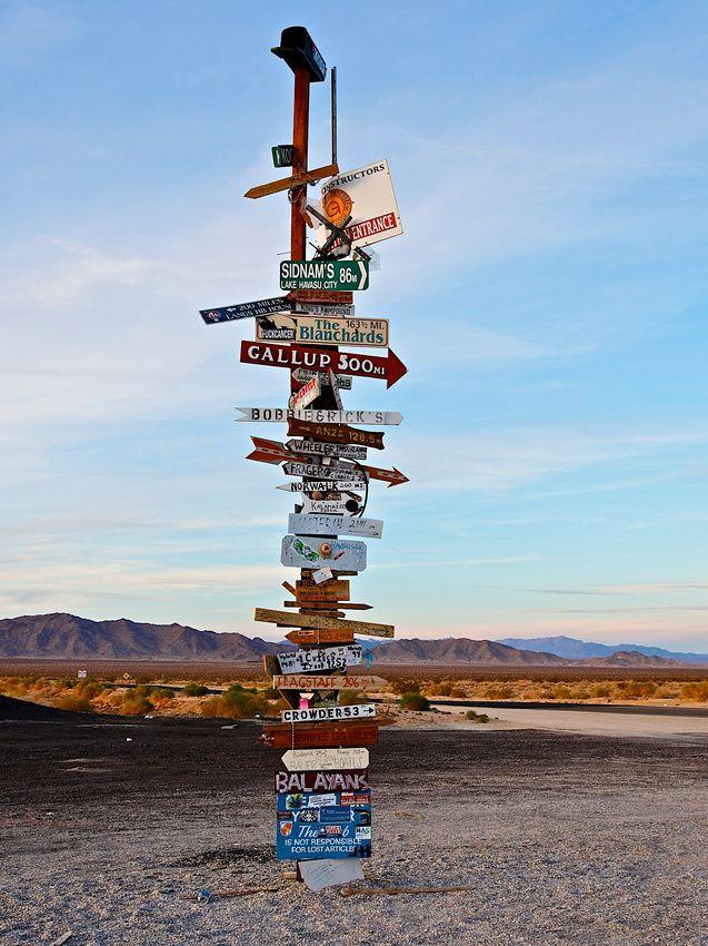 Rice Junction, Mojave Desert, CA