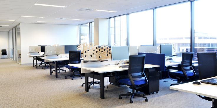 Oceanagold office fit-out by Eastern Commercial Furniture - IMPULSE task chairs by Burgtec