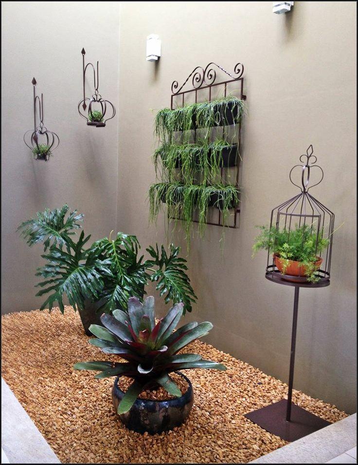 Jardín perfecto para un espacio interior o patio pequeño, que lindo!!!!