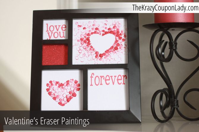 valentine day paintings
