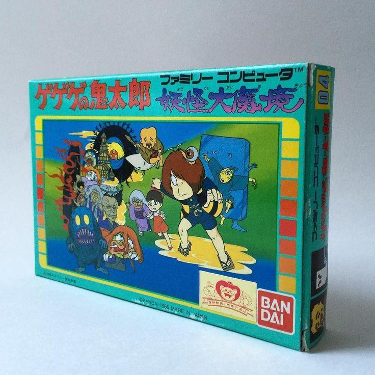 On instagram by famicom_necropolis #famicom #microhobbit (o) http://ift.tt/1OoALg4 no Kitarou: Youkai Daimakyou / ゲゲゲの鬼太郎 妖怪大魔境  Published: Bandai / Toei  Developed: Tose / トーセ  Released: April 17 1986  #ファミリーコンピュータ #ファミコンディスクシステム #ディスクシステム #Famicom #ファミコン #FC #ゲゲゲの鬼太郎妖怪大魔境 #ゲゲゲの鬼太郎 #妖怪大魔境 #ninjakid #トーセ #tosesoftware