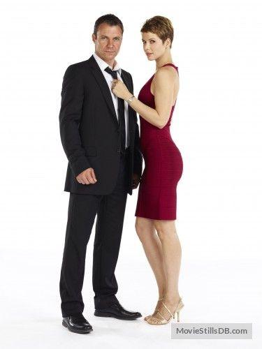 Transporter: The Series - Promo shot of Chris Vance & Andrea Osvart