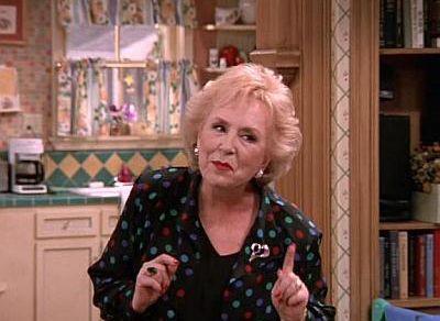 TV grandma - Marie Barone (Doris Roberts) on Everybody Loves Raymond #tvgrandma #mariebarone #everybodylovesraymond #welovegrandma