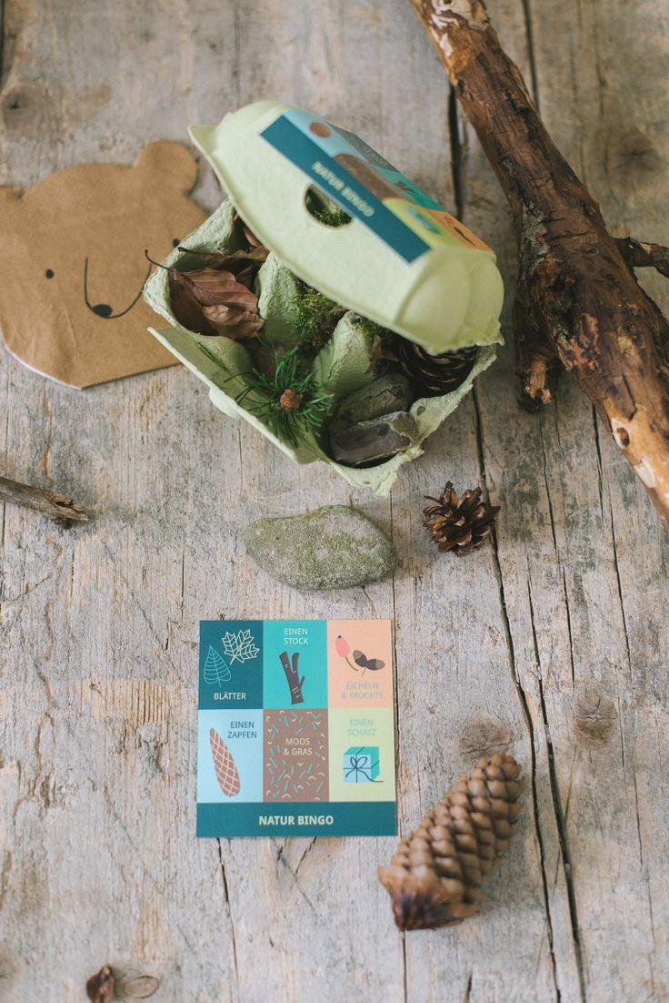 Spiele beim Waldgeburtstag: Naturbingo - Weitere Ideen auf dem Blog! https://www.fraeulein-k-sagt-ja.de/kindergeburtstag/spiele-fuer-den-waldgeburtstag/