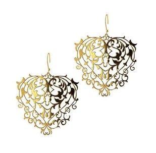 Mini Baroque Earrings Artwork