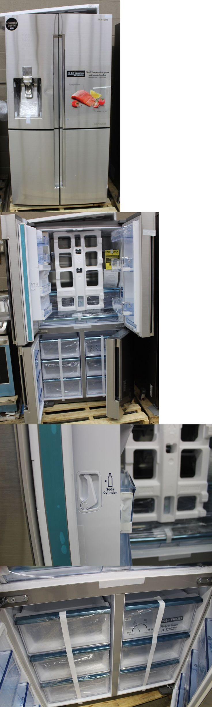 1000 ideas about counter depth refrigerator on pinterest for I kitchens and renovations walsall