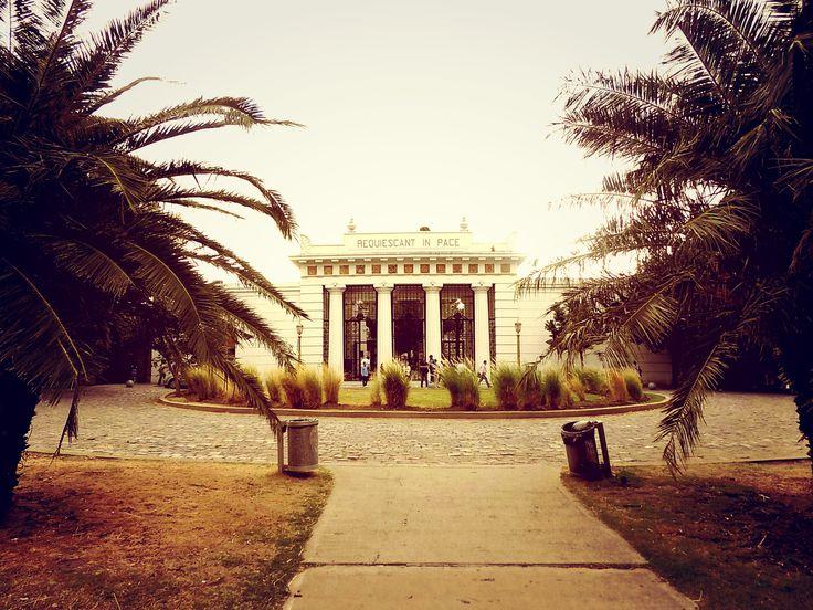 Cemetery Recoleta.