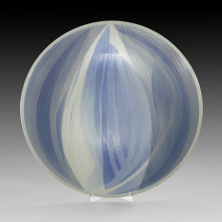 Grete Prytz Korsmo; Enameled Silver Bowl for Jacob Tostrup, 1957.