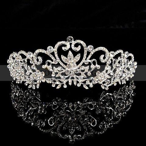 Oh. My. Goodness.  I kinda want this really bad. ---Joy of Love Themed Glitter Wedding Tiara