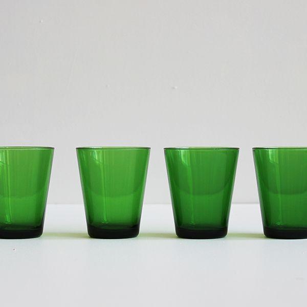 verres vintage Vereco 1970