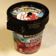 Step away from the Ben & Jerry's ...: Gadgets, Ben And Jerry, Food, Ice Cream, Funnies, Jerry Ice, Products, Cream Locks, Icecream
