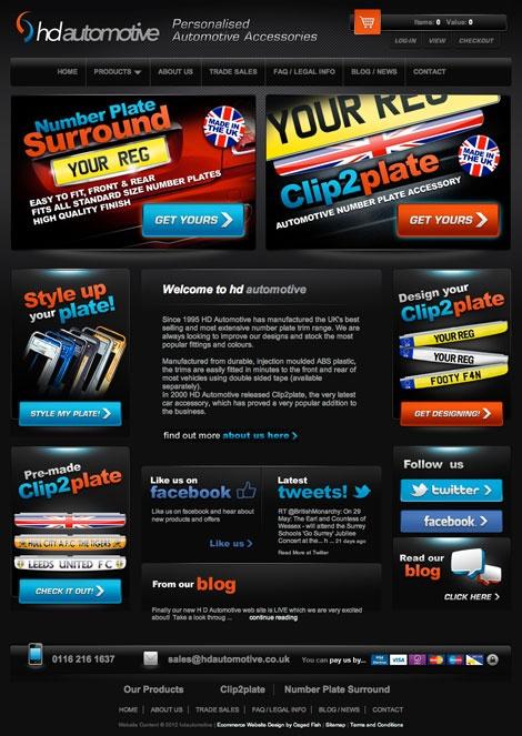 HD Automotive a new #ecommerce website