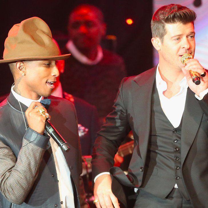 Pin for Later: Pharrell und Robin Thicke der Urheberrechtsverletzung schuldig befunden