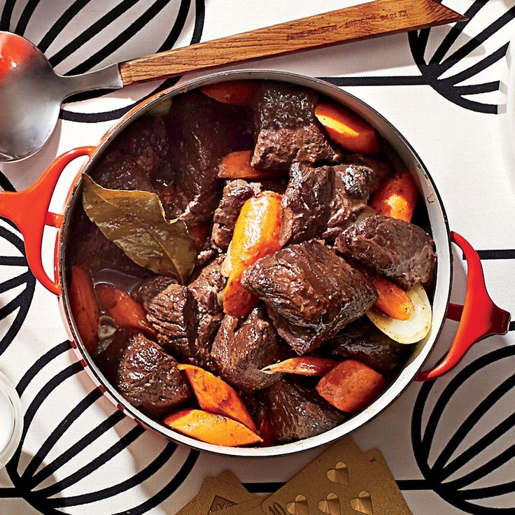 Beef Burgundy Stew | The Vice President for the Southern division of Sears, Roebuck, and Co. sent us this recipe after a trip to France.