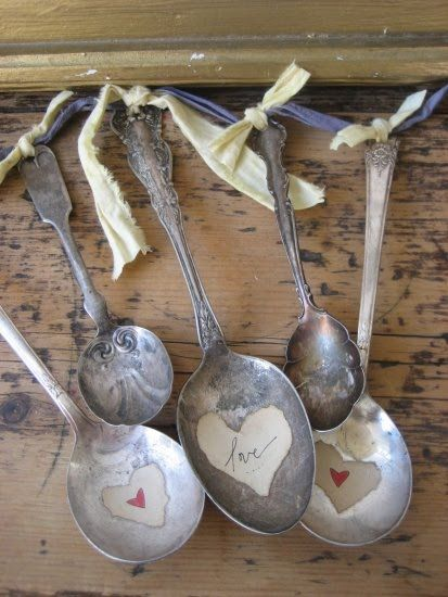 .heart spoons