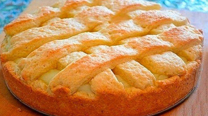 Яблочный пирог с заварным кремом. Лучшие рецепты для вас на сайте «Люблю…