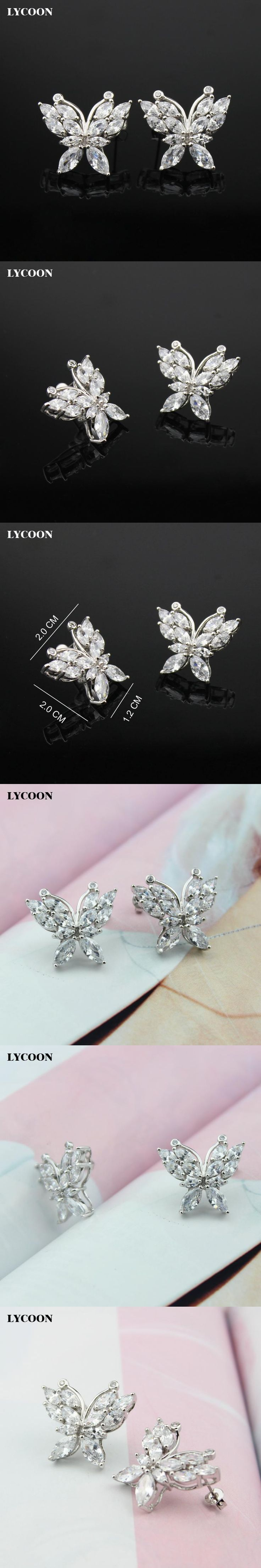 img hudson stud silver earrings zirconia kim real products llc carat cz timeless sterling cubic