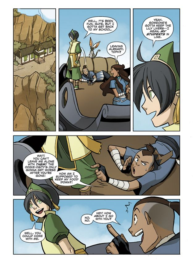 """Exclusive: """"Avatar: The Last Airbender"""" The Teen Years - BuzzFeed Mobile"""