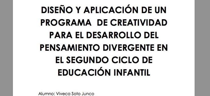 Más de 150 actividades para trabajar la creatividad y el pensamiento divergente en niños de 3 a 6 años
