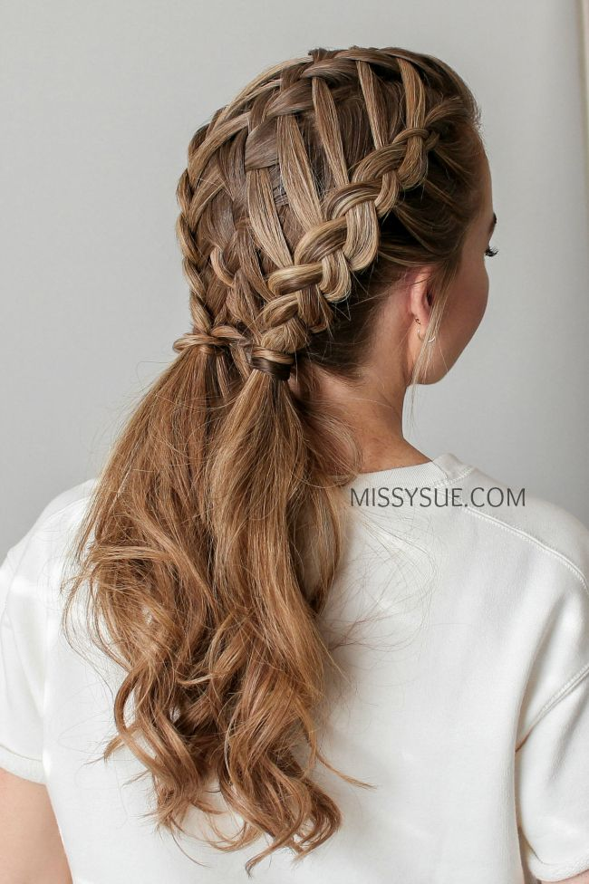 Waterfall Braid Double Dutch Braids Dutchbraid Pigtails