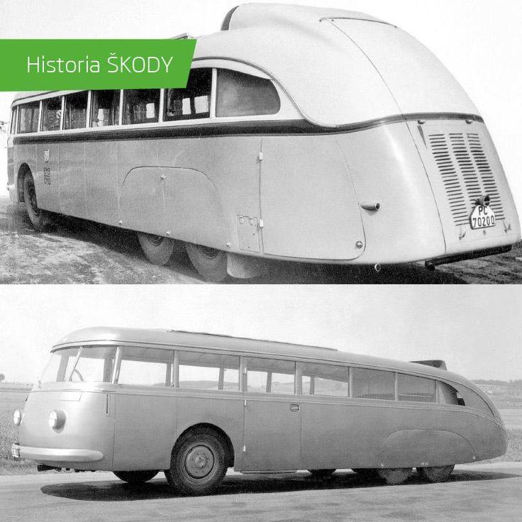 SKODA 532 bus (1939) #SKODA #SkodaStory