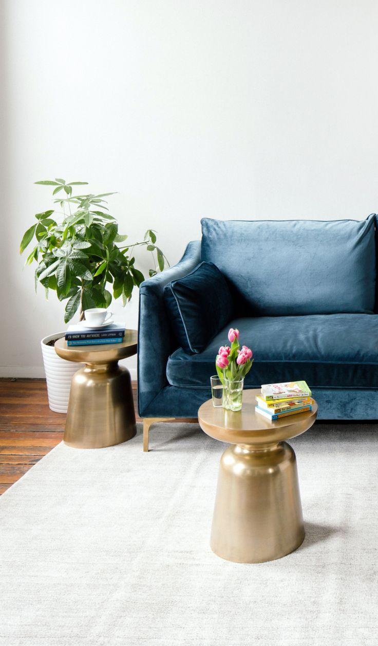 This Blue Velvet Sofa The Caitlin Custom Sofa By Interior Define