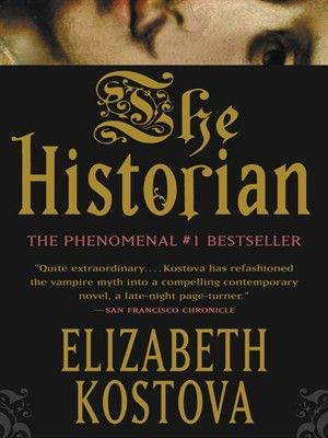 Elizabeth Kostova's debut novel is an adventure of monumental proportions, a relentless tale that blends fact and fantasy, history and the present, with an assurance that is almost unbearably suspenseful-and utterly unforgettable. #NationalLibraryWeek Start reading 'The Historian' on OverDrive: https://www.overdrive.com/media/71945/the-historian